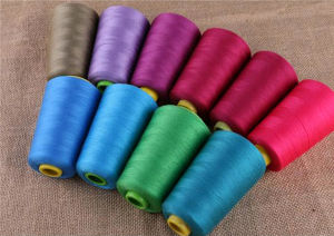 Poly Cotton Core Sewing Threads for Denim 40s/2 Polyester Thread