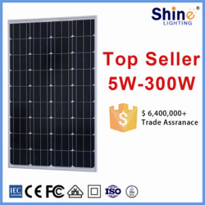 100W Monocrystalline Solar Module / Solar Panel for Solar Water Heater/ Solar Power Home System pictures & photos