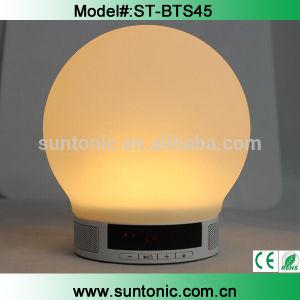 2015 LED Light Mini Portable Bluetooth Speaker with Alarm Clock