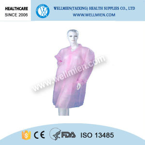 Nonwoven Disposable Surgical Lab Coat Medical Visiting Clothing pictures & photos