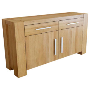 Solid Wood Furniture-100% Oak Sideboard