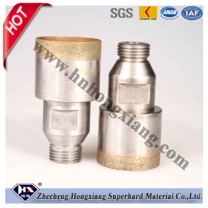 Sintered Glass Diamond Core Drill Bit pictures & photos
