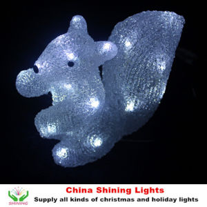 New Design Squirrel LED Lights Christmas Holiday Party Decoration Toy pictures & photos