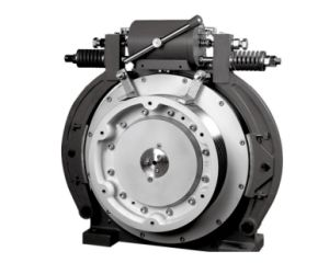 Gearless Traction Motor with Permanent Magnet Synchronous for Elevator