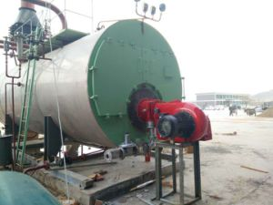 Automatic Fire Tube Industrial Diesel Oil/Natural Gas Fired Steam Boiler pictures & photos