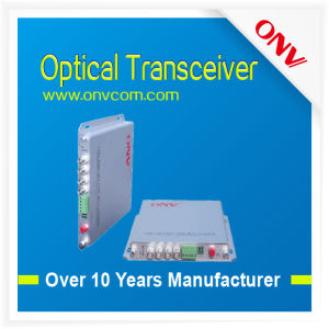 Optical Transceiver-2 CH Audio Video and 1CH Data