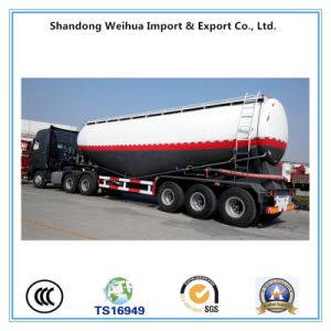 45m3 Cement Tanker, Tri-Axle Bulk Cement Tank Trailer From Manufacture pictures & photos