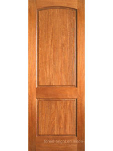 Interior Mahogany 2 Panel Arch Top Panel Single Door pictures & photos