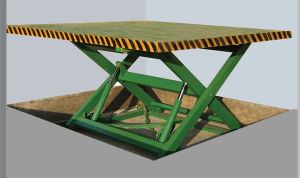 Stationary Lift Table with Load Capacity 1000kg (Customizable) pictures & photos