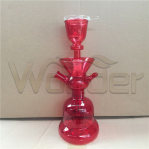 Red Handblow Glass Shisha Hookahs for Sale