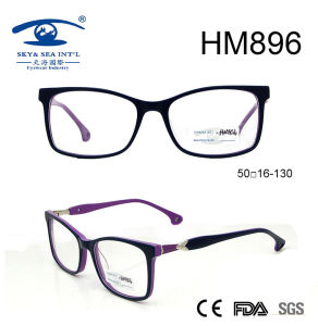 Top New Embossed Acetate Optical Frame for Lady (HM896) pictures & photos