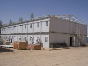 Modular Container House for Canada Mine Campsite pictures & photos