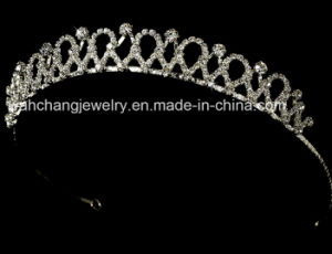 Bridal Tiara H-5466, Wedding Tiara, Rhinestone Tiara Comb, Fashion Tiara, Princess Tiara