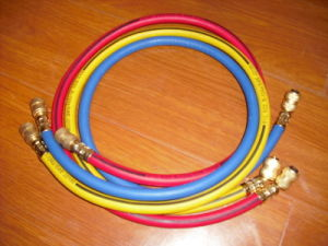 Rubber Freon Charge Hose for Air Conditioner pictures & photos