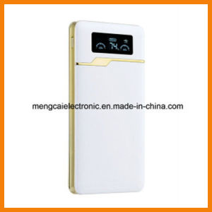 Free Sample High quality Ultra-Thin 12000 Ma Dual USB LED Display with Torch Smart Rechargeable Power Bank