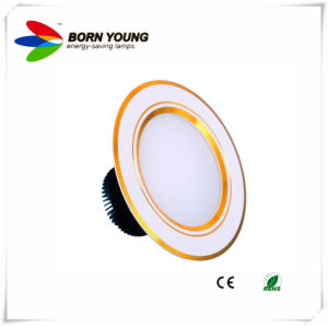 LED Downlight, Recessed Light, Ceiling Light, Gold&White pictures & photos