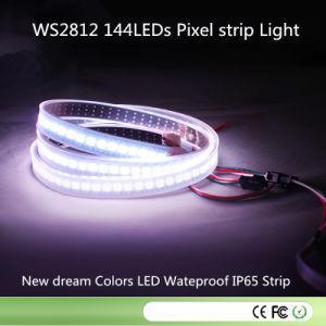 DC5V 144pixel/M 7mm/Cut 144LEDs Ws2812 Waterproof LED Pixel Strip pictures & photos