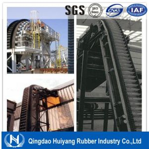 Cement Large Angle Corrugated Sidewall Conveyor Belting