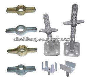 OEM Adjustable Base Jack Nut and Scaffolding U Head Jack