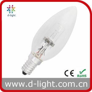 Eco Halogen Bulb Candle C35 18W E14 pictures & photos