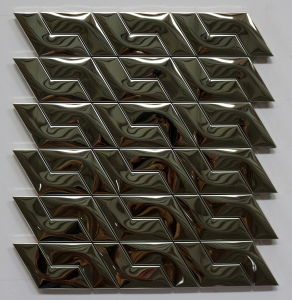 Hot Promotion Product Mirror Stainless Steel Mosaic for Interior Decoration pictures & photos