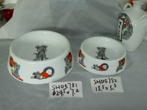 Ceramic Dog Bowls (CY-P5781) pictures & photos