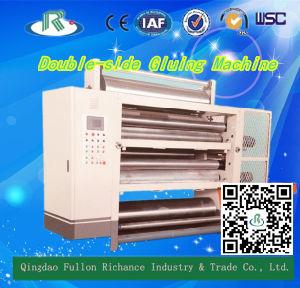 Tjm-C Type Production Line Automatic Double-Side Paper Gluer pictures & photos
