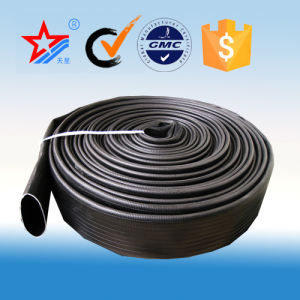 Black 2.5 Inch Fire Fighting Hose pictures & photos