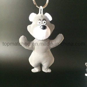 Reflective Hanger Toy Cartoon Bear for Safety Decoration and Warning pictures & photos