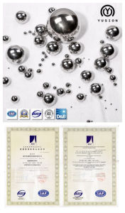 AISI 52100 Chrome Steel Balls for Valves pictures & photos