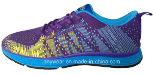 China Women Flyknit Running Sport Shoes Gym Sports Footwear (815-3621) pictures & photos