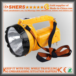 Rechargeable 1W LED Flashlight with 16 LED Desk Light (SH-1953A) pictures & photos