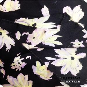 Printed Satin Chiffon Silk Chiffon (RHFZ-0322)