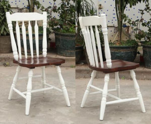 Solid Wooden Dining Chairs Windsor Chair Outdoor Chairs (M-X2049) pictures & photos