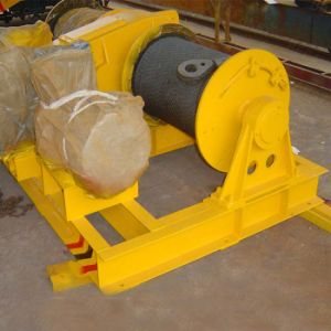 Pulling Single Drum Winch with Wire Rope pictures & photos