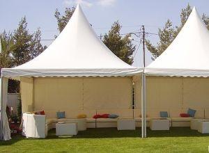 4X4m High Quality Aluminum Frame PVC Gazebo Garden Tent (MLP4) pictures & photos