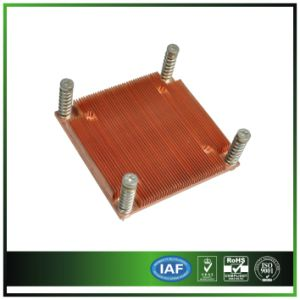 Copper Pin Fin Heat Sink for Server Equipment pictures & photos
