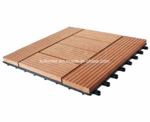 WPC DIY Flooring Tile DIY Interlocking Floor Tiles Decking Floor pictures & photos