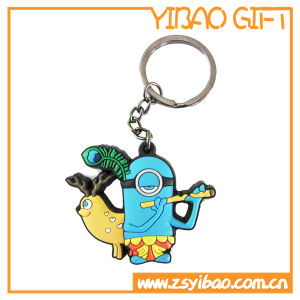 High Quality Christmas PVC Keychain for Promotional Items (YB-K-004) pictures & photos