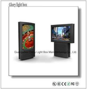 Indoor Advertising Touch Screen Monitor pictures & photos