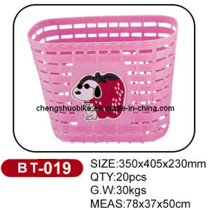 Lovely Bicycle Basket (BT-019) of Good Quality pictures & photos