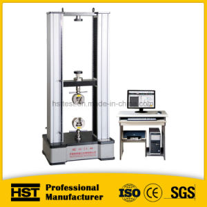 10/20kn LCD Display Electronic Steel Bar Universal Tensile Testing Machine pictures & photos