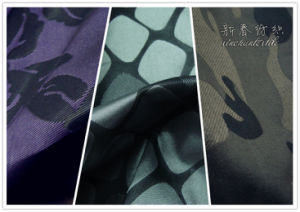 100%Polyester Memory Yarn Dyed Jacquard Fabric pictures & photos