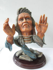Polyresin Native Americans Statue/ Resin Sculpture/Resin Figurine pictures & photos