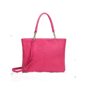 New Fashion Women PU Leather Tote Bag Sets with Different Colors (M101) pictures & photos