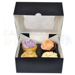 Take Away Food Packing Folding Paper Cupcake Box pictures & photos