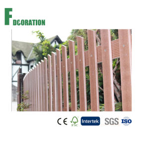 Weather Resistant Outdoor Garden WPC Fence Gate & Patition pictures & photos