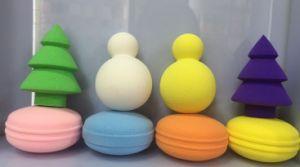 OEM Colorful Design Powder Puff pictures & photos