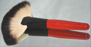 Professional Cosmetic Fan Makeup Brush