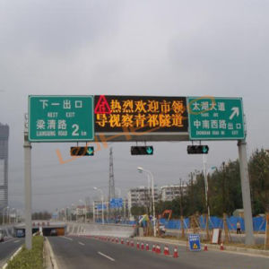 High Brightness Waterproof LED Screen for Traffic Guidance pictures & photos